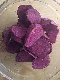 燕窝紫薯甜汤的做法步骤4